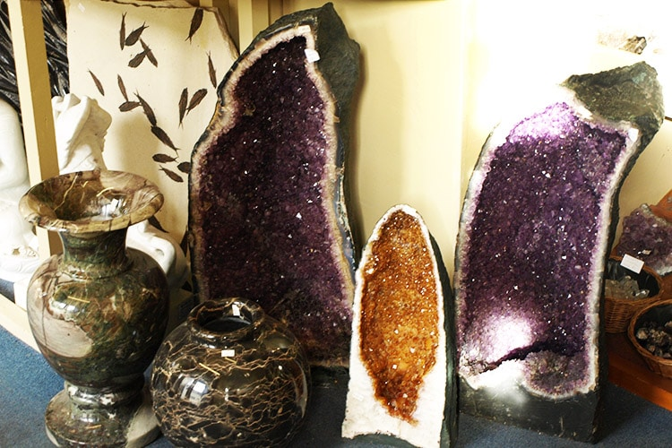 Crystals for sale in our shop